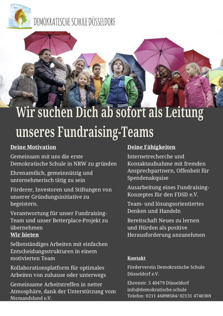 Stellenausschreibung_Fundraising-Team
